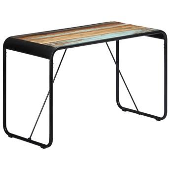 Stół z drewna odzyskanego Relond 2X – wielokolorowy