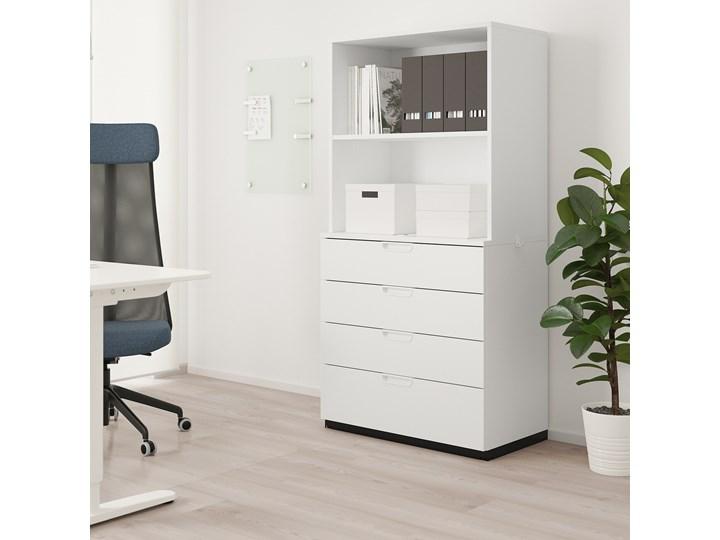 GALANT Kombinacja z szufladami Kolor Biały