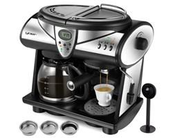 Ekspres do kawy ciśnieniowo-przelewowy YOER Doppio CCM01BK 2w1