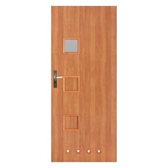Drzwi z tulejami Lugano 70 prawe olcha