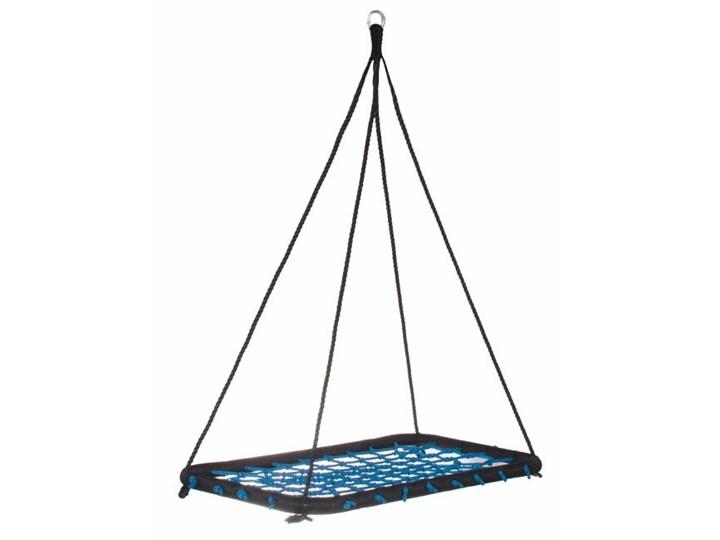 Bocianie gniazdo czarno-niebieskie 140cm