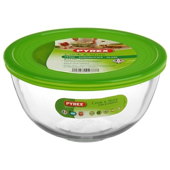 Salaterka żaroodporna z pokrywką Cook & Store 21 cm / 2 l PYREX