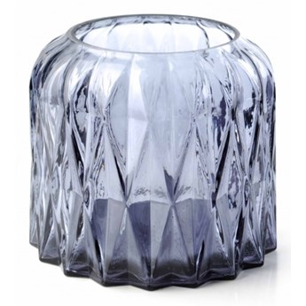 Lampion szklany trójwymiarowy świecznik