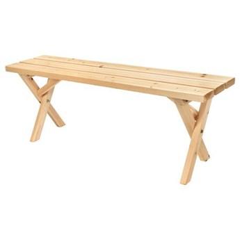 Drewniana ławka na taras, ogród SImona