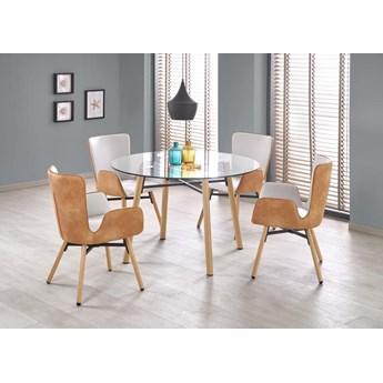 Unikalny stół ze szklanym blatem - Primo