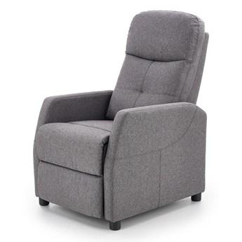 Rozkładany fotel wypoczynkowy tkanina