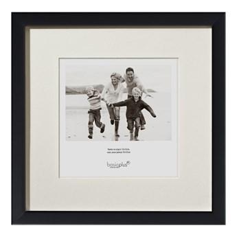 Ramka na zdjęcie czarna 50x50 cm