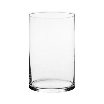 Dekoracyjny szklany wazon Cylinder wys.30