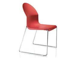 Krzesło Aida rama ze stali nierdzewnej