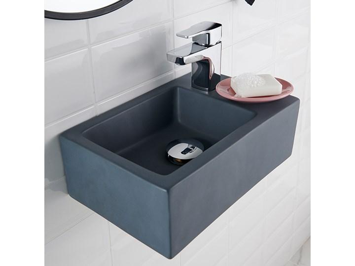 Bateria umywalkowa GoodHome Teesta S Kategoria Baterie łazienkowe Kolor Szary