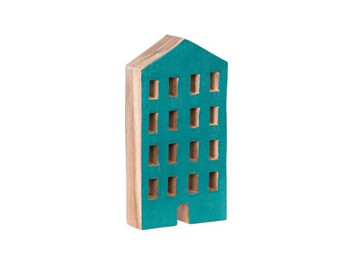 Figurka wysoka House Drewno Kolor Beżowy