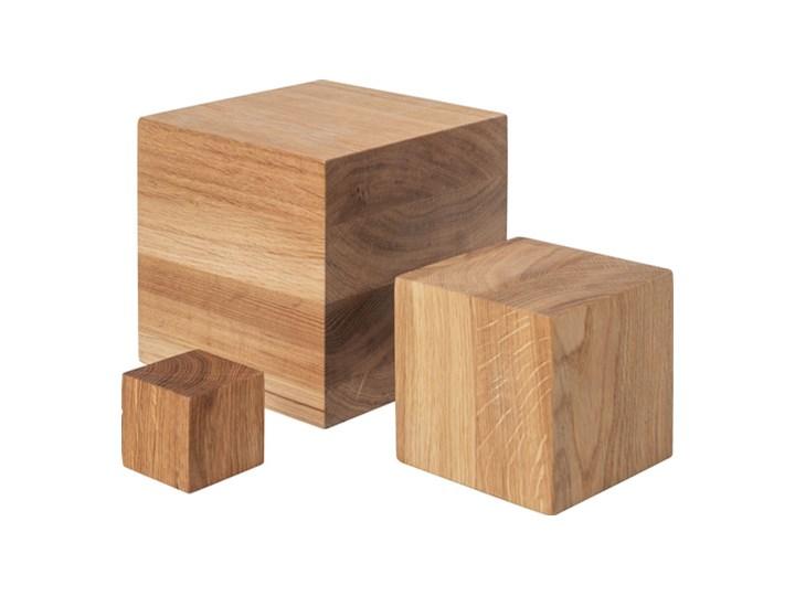 Klocki drewniane kpl 3 szt Kategoria Figury i rzeźby Drewno Abstrakcja Kolor Brązowy