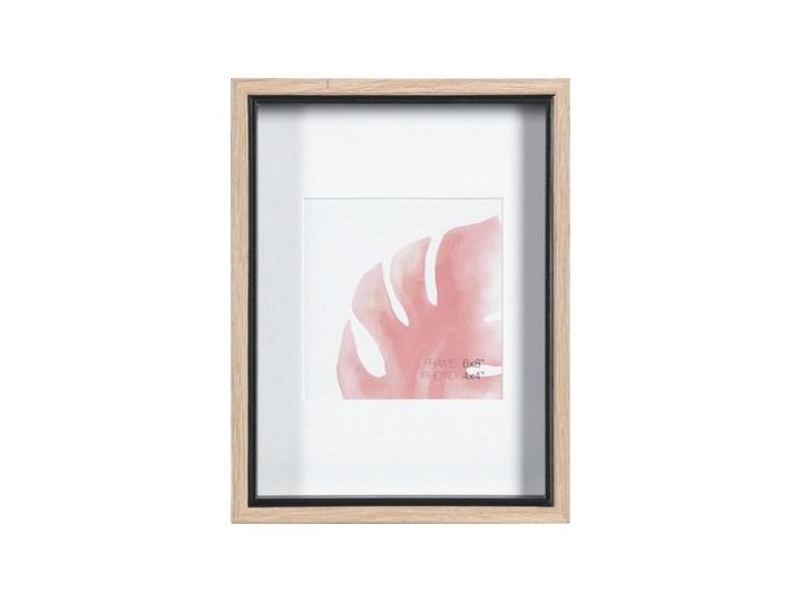Ramka do zdjęć 22x17 Muno I Drewno Rozmiar zdjęcia 17x22 cm Ramka na zdjęcia Kolor Beżowy