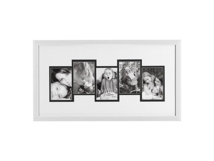 Ramka do zdjęć 33x63 Retto biała Multiramka Tworzywo sztuczne Kolor Szary