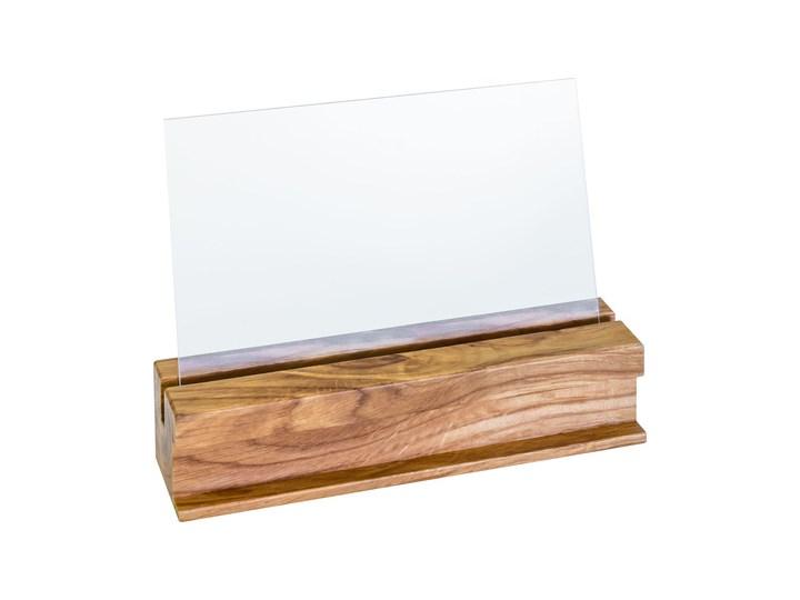 Ramka do zdjęć Simple Simple Drewno Stojak na zdjęcia Kolor Brązowy