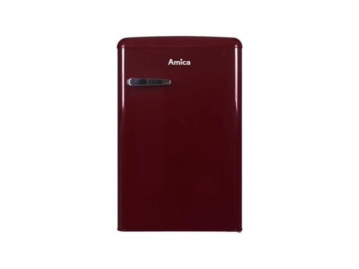 Lodówka AMICA KS15611R Retro 86cm Czerwona