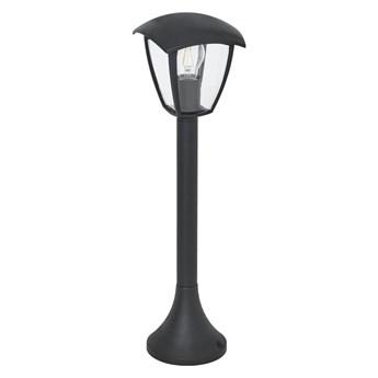 Lampa ogrodowa stojąca FOX IP44 60 cm czarna E27 MILAGRO