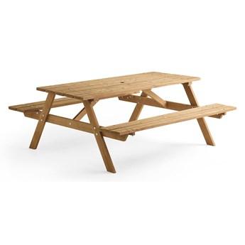 Stół piknikowy CAMP, 1800 mm, brązowy