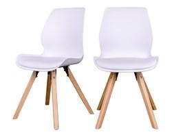 SELSEY Zestaw dwóch krzeseł Latirit białe