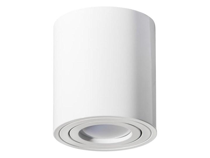 Round H115 lampa sufitowa 1-punktowa kierunkowa biała Oprawa stropowa Kolor Biały