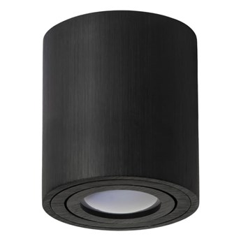 Round H115 lampa sufitowa 1-punktowa kierunkowa czarna