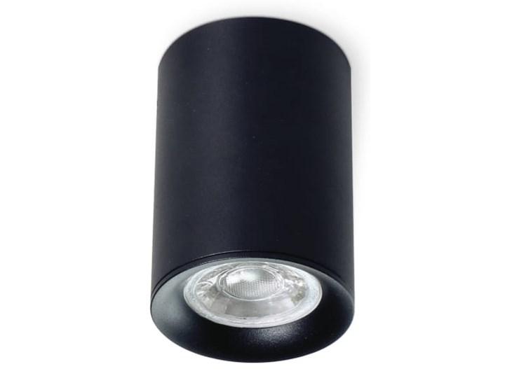 Mango Round lampa sufitowa 1-punktowa czarna Oprawa stropowa Oprawa ruchoma Kolor Czarny