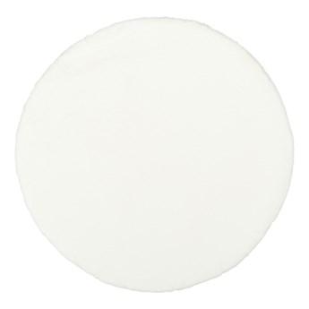 Dywan okrągły Bella 80 cm biały