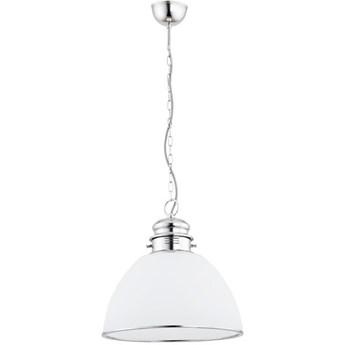 lampa wisząca nad stół Andy chrom śr. 30cm