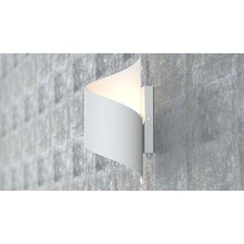 SPINER WHITE 920/1 nowoczesny kinkiet LED zakręcony biały różne kolory DESIGN