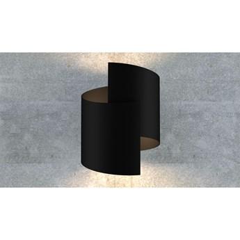 SOFT BLACK 7410/1 kinkiet na ścianę czarny oryginalny design LED
