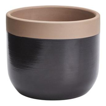 Doniczka ceramiczna C38 GoodHome ozdobna