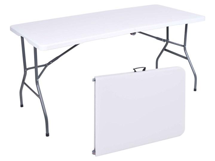 Stół cateringowy bankietowy składany w walizkę - 152 cm