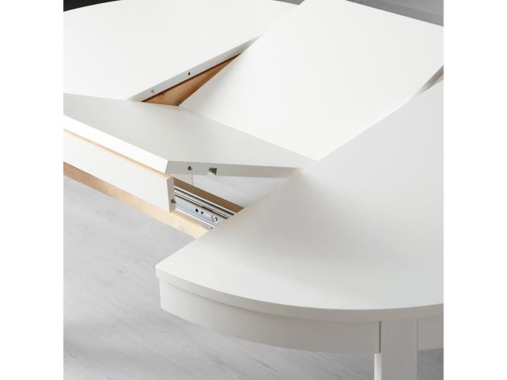 BJURSTA Stół rozkładany Długość 115 cm Szerokość 115 cm Długość 166 cm Wysokość 74 cm Rozkładanie