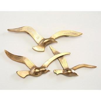 Obraz Dekoracja ścienna Vogel Gold Relif Płaskorzeźba