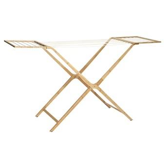 Suszarka na pranie z bambusa rozkładana Hübsch
