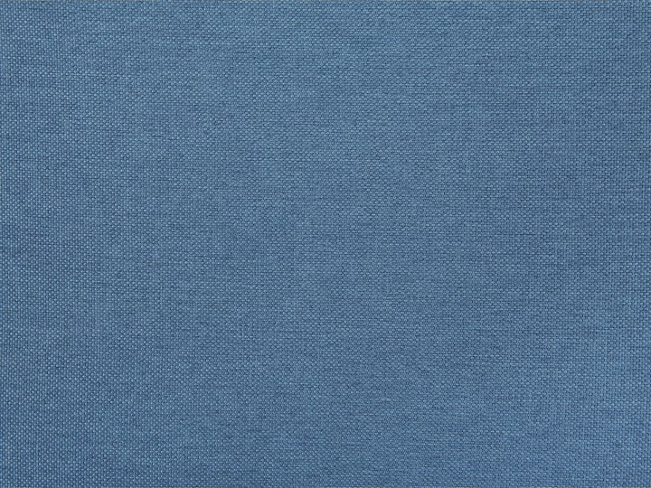 Narożnik lewostronny niebieski 3-osobowy pikowany styl skandynawski Boki Z bokami W kształcie L Szerokość 182 cm Materiał obicia Tkanina