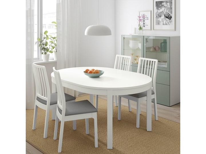 BJURSTA / EKEDALEN Stół i 4 krzesła Kolor Szary Pomieszczenie Jadalnia