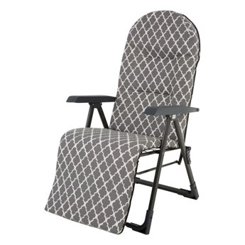 Fotel z podnóżkiem Patio Newada Plus H030-06PB