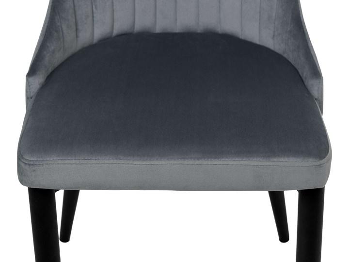 Krzesło welurowe LORIENT VELVET grafitowe Krzesło inspirowane Wysokość 46 cm Tkanina Wysokość 89 cm Metal Tapicerowane Głębokość 45 cm Tworzywo sztuczne Szerokość 32 cm Wysokość 41 cm Styl Industrialny