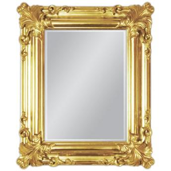 Lustro w złotej oprawie 50x60 21023