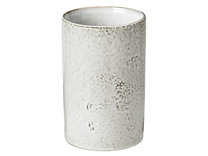 Broste Copenhagen - Pojemnik Nordic Sand Ceramika Drewno Kategoria Pojemniki i puszki