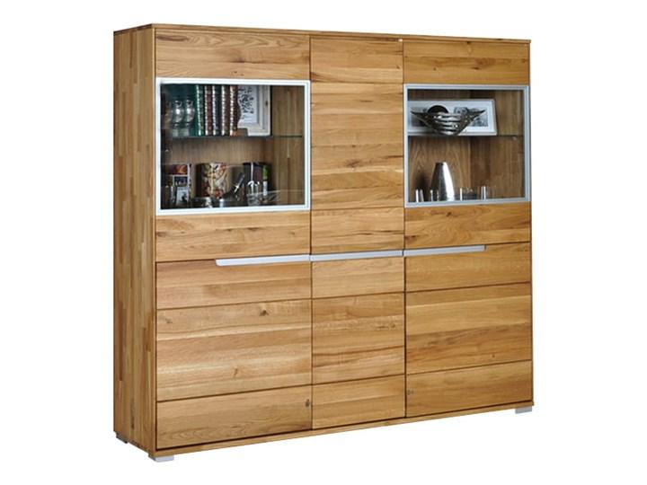 Kredens dębowy Faro Soolido Meble Pomieszczenie Jadalnia Drewno Pomieszczenie Salon