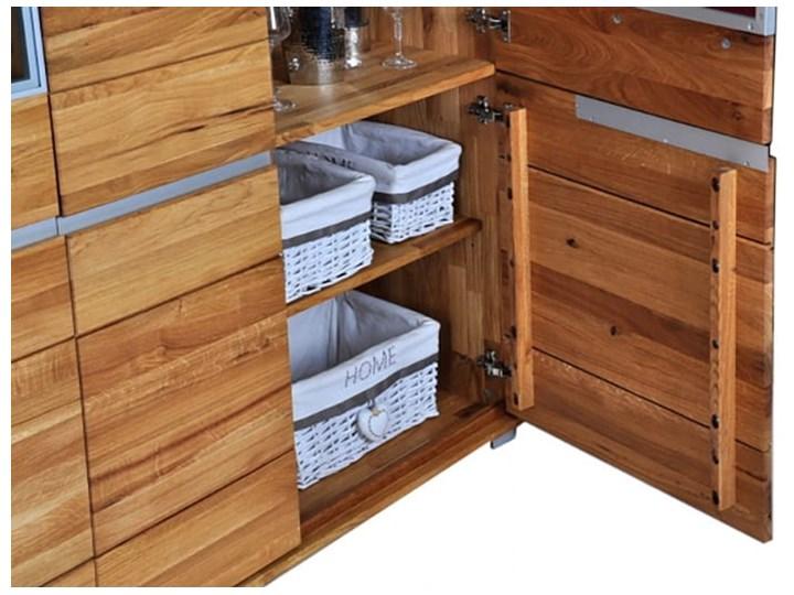 Kredens dębowy Faro Soolido Meble Kategoria Kredensy Drewno Pomieszczenie Jadalnia