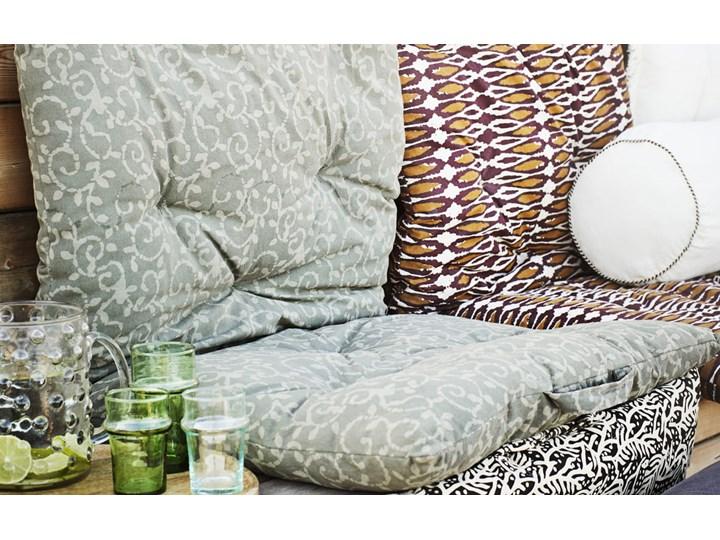 PODUSZKA WAŁEK Z LNU WHITE MADAM STOLTZ Poduszka dekoracyjna Aksamit Poszewka dekoracyjna 20x50 cm Pomieszczenie Salon Bawełna Len Wzór Jednolity