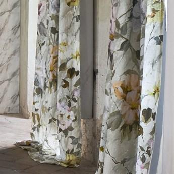 Zasłona Designers Guild Carrara Fiore Granade Platinum