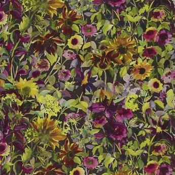 Zasłona Designers Guild Indian Sunflower Graphite