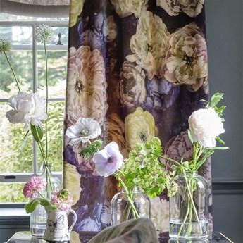 Zasłona Designers Guild Le Poeme De Fleurs Rosewood