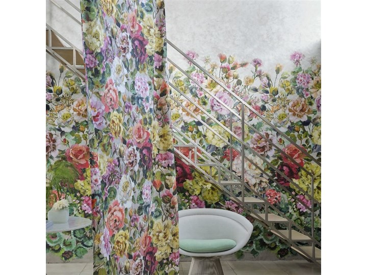 Zasłona Designers Guild Grandiflora Rose Epice