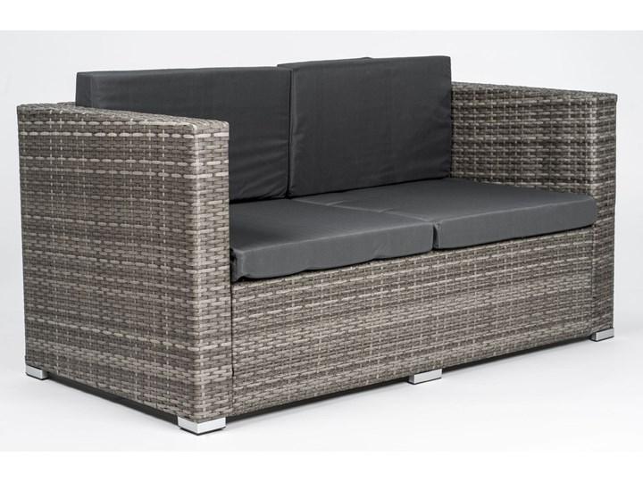 MEBLE OGRODOWE RATTAN FC-1026  mega duży POPIEL Zestawy wypoczynkowe Stoły z krzesłami Technorattan Zawartość zestawu Stół Kolor Szary