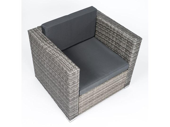 MEBLE OGRODOWE RATTAN FC-1026  mega duży POPIEL Zawartość zestawu Stół Technorattan Stoły z krzesłami Zestawy wypoczynkowe Zawartość zestawu Krzesła